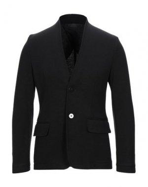 Пиджак DANIELE FIESOLI. Цвет: черный