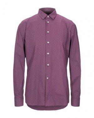 Pубашка BRANCACCIO. Цвет: баклажанный