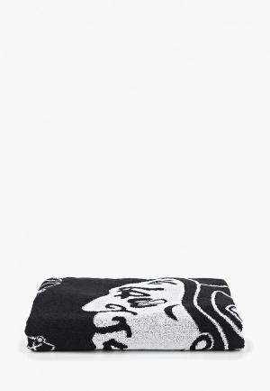 Полотенце Atributika & Club™ NHL Chicago Blackhawks. Цвет: черный