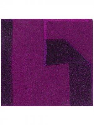 Платок с эффектом металлик Missoni. Цвет: фиолетовый