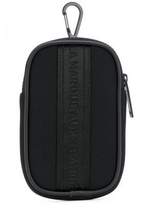 Кошелек-брелок NMD Adidas. Цвет: чёрный
