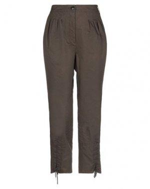 Повседневные брюки AIGLE. Цвет: темно-зеленый