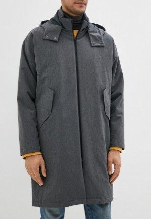 Куртка утепленная Adolfo Dominguez. Цвет: серый