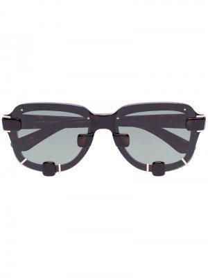 Солнцезащитные очки YP5C3 из коллаборации с Y / Project Linda Farrow. Цвет: черный