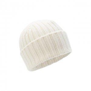 Кашемировая шапка Allude. Цвет: белый