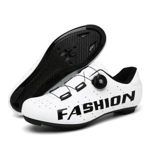 Мужская велосипедная обувь с текстовым принтом SHEIN. Цвет: белый