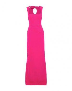 Длинное платье ANTONIO BERARDI. Цвет: фуксия