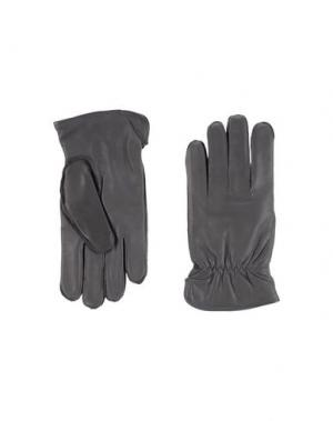 Перчатки ORCIANI. Цвет: серый