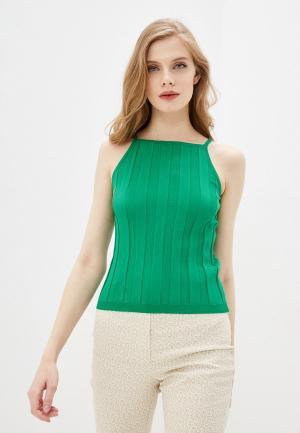 Майка Compania Fantastica. Цвет: зеленый