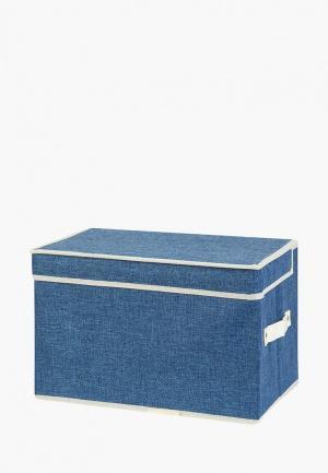 Короб для хранения El Casa. Цвет: синий