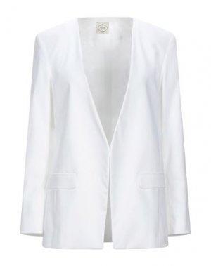 Пиджак EMMA & GAIA. Цвет: белый