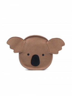 Kapi leather shoulder bag Donsje. Цвет: нейтральные цвета