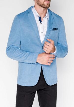 Пиджак Ombre MP002XM23YLK. Цвет: голубой