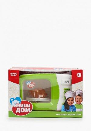 Набор игровой Happy Valley Микроволновая печь. Цвет: зеленый