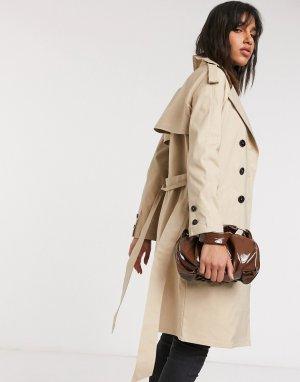 Тренч -Бежевый Fashion Union