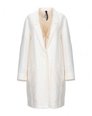 Легкое пальто ATTIC AND BARN. Цвет: белый