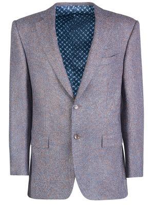 Твидовый пиджак Zilli. Цвет: коричневый