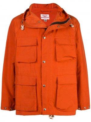 Легкая парка Battenwear. Цвет: оранжевый
