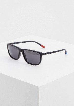 Очки солнцезащитные Polo Ralph Lauren PH4171 528487. Цвет: черный