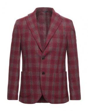 Пиджак TOMBOLINI. Цвет: красно-коричневый