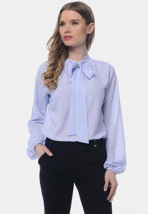 Блуза Arefeva. Цвет: голубой