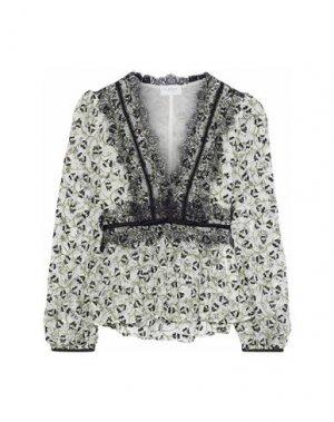 Блузка GIAMBATTISTA VALLI. Цвет: белый