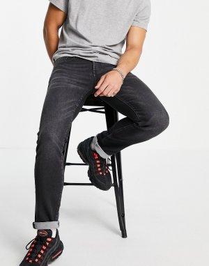 Серые выбеленные джинсы скинни J13-Серый Armani Exchange