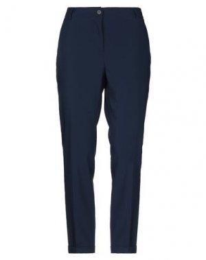 Повседневные брюки HOTEL PARTICULIER. Цвет: темно-синий