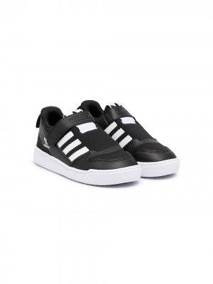 Слипоны Forum 360 adidas Kids. Цвет: черный
