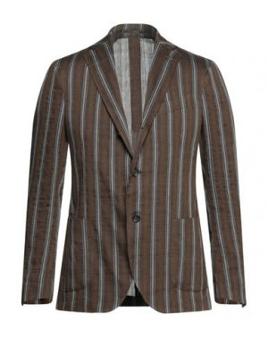 Пиджак LARDINI. Цвет: темно-коричневый