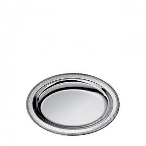 Тарелка для хлеба Malmaison Christofle. Цвет: серебряный