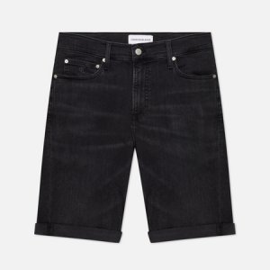 Мужские шорты Slim Denim Calvin Klein Jeans. Цвет: чёрный