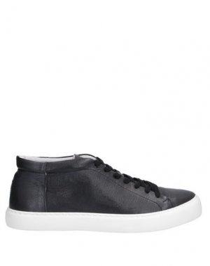 Высокие кеды и кроссовки HAMAKI-HO. Цвет: черный