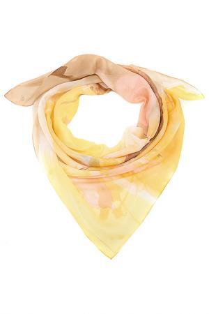 Платок F.FRANTELLI. Цвет: песочный, персиковый, ваниль,