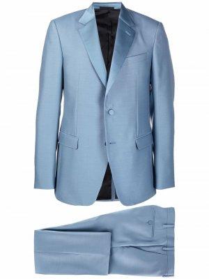 Костюм с однобортным пиджаком LANVIN. Цвет: синий