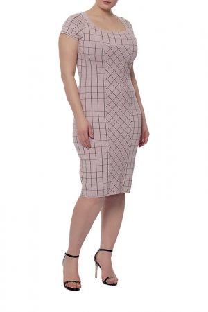 Платье Fendi. Цвет: бордовый