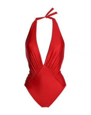 Слитный купальник LENNY NIEMEYER. Цвет: красный