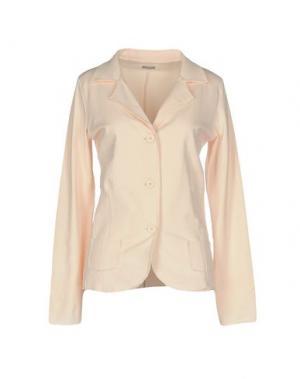 Пиджак ALPHA STUDIO. Цвет: светло-розовый