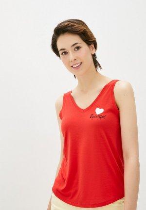 Майка Jacqueline de Yong. Цвет: красный