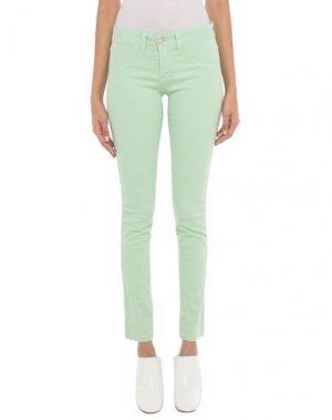 Джинсовые брюки H2O ITALIA. Цвет: светло-зеленый