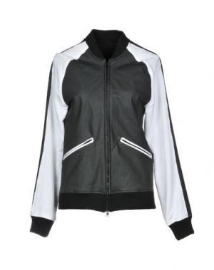 Куртка STORIES Milano. Цвет: черный