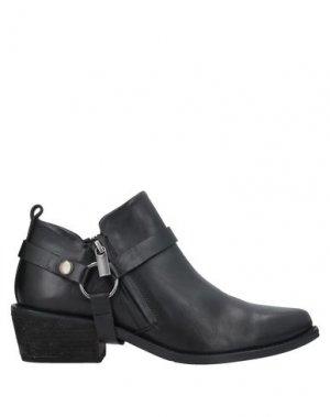 Ботинки POLICE 883. Цвет: черный