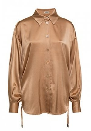 Блуза MAX&MOI. Цвет: бежевый