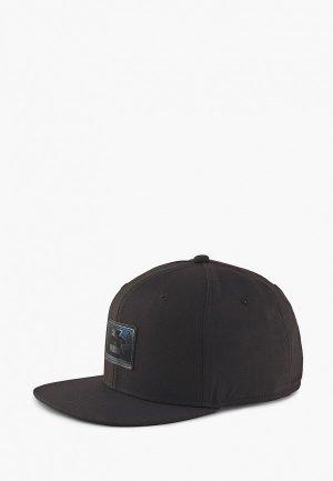 Кепка PUMA X SEGA Flatbrim Cap. Цвет: черный