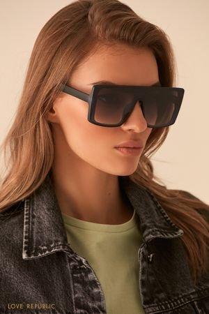 Солнцезащитные очки в прямоугольной оправе LOVE REPUBLIC