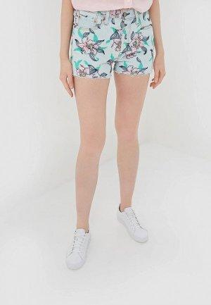 Шорты джинсовые Levis® Levi's® 501® High Rise. Цвет: голубой