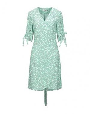 Платье до колена DRY LAKE.. Цвет: светло-зеленый