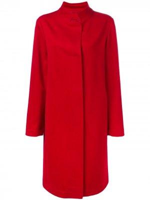 Длинное пальто Yarden Liska. Цвет: красный