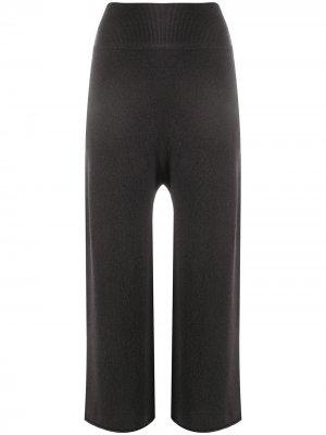 Укороченные спортивные брюки Sminfinity. Цвет: серый