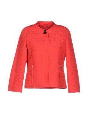 Куртка ADELE FADO. Цвет: красный